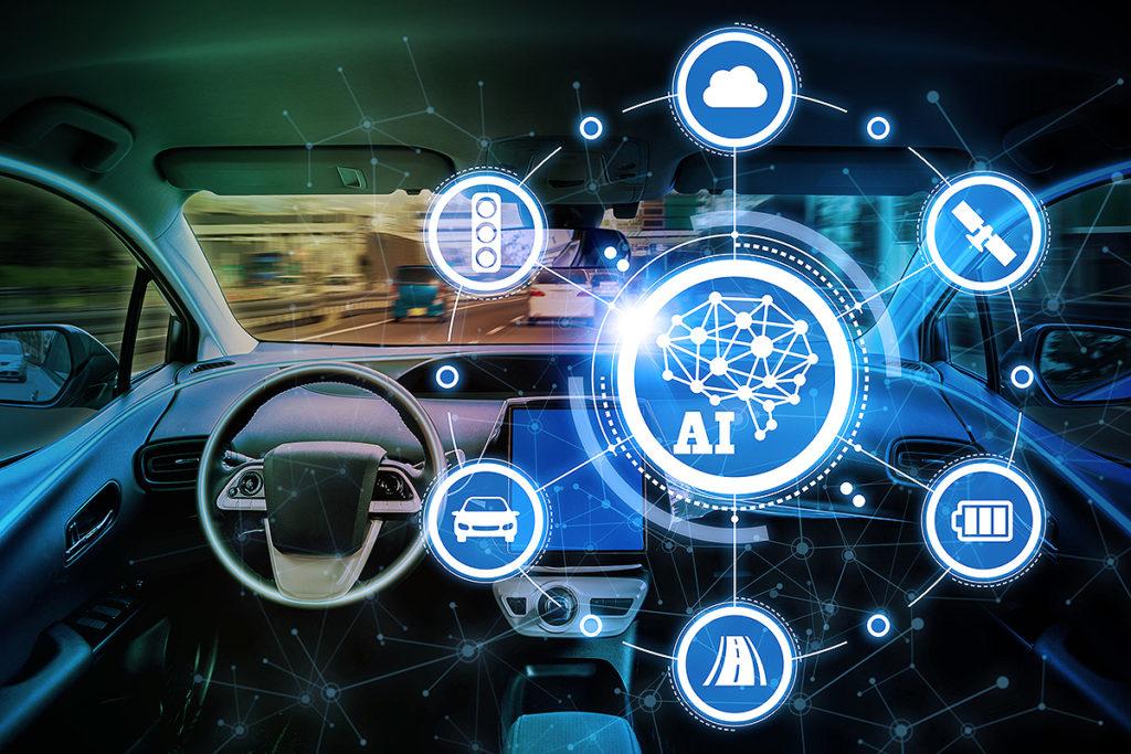 AI搭載車イメージ