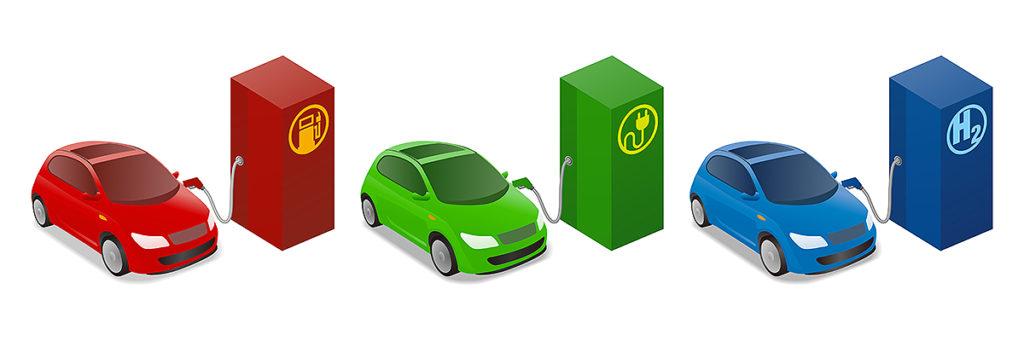 シンエネルギー充電・充填設備イメージ