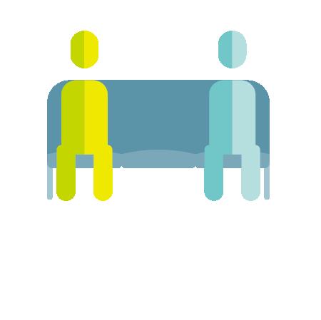 距離を配慮した座席数の制限